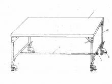 Стол перевязочный П-1